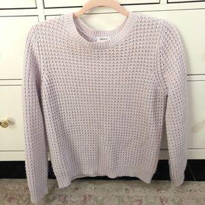 Pastel Purple Knit Sweater
